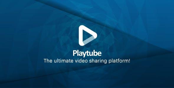 PlayTube影视源码 PHP视频上传分享源码