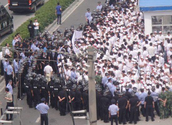 暴力在罢工中的作用