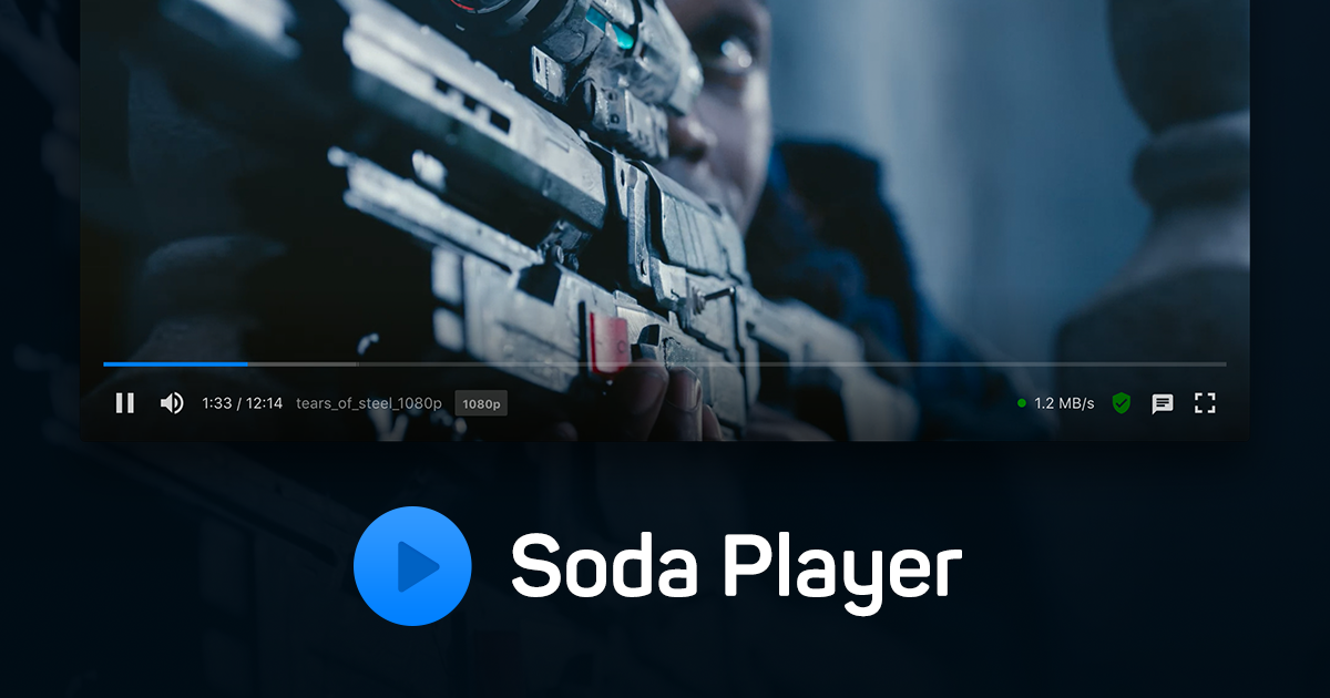 Soda Player 播放器