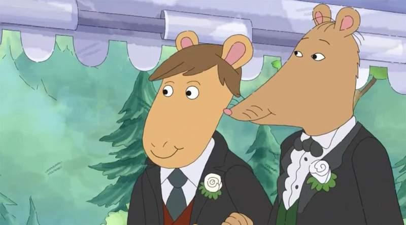 5cf53766e05e035849 - 美国经典卡通《亚瑟小子》因出现「同性婚礼」遭禁播起争议