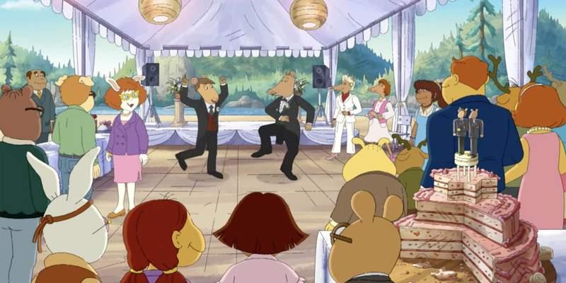 5cf537677a1a456365 - 美国经典卡通《亚瑟小子》因出现「同性婚礼」遭禁播起争议