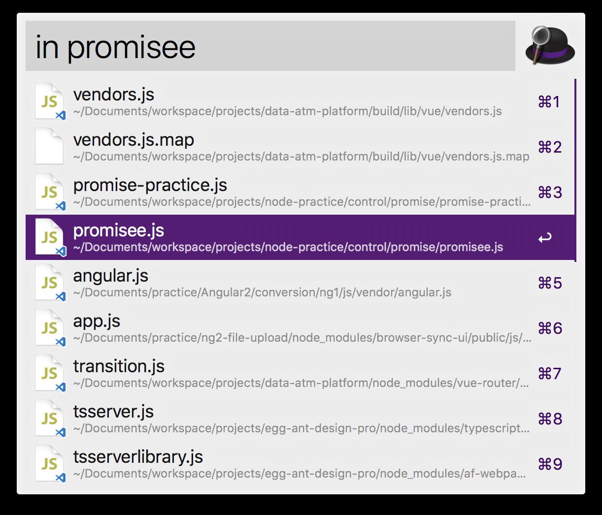 Angular2 入門 alfred workflow小白入门– kylen的博客| 大专栏