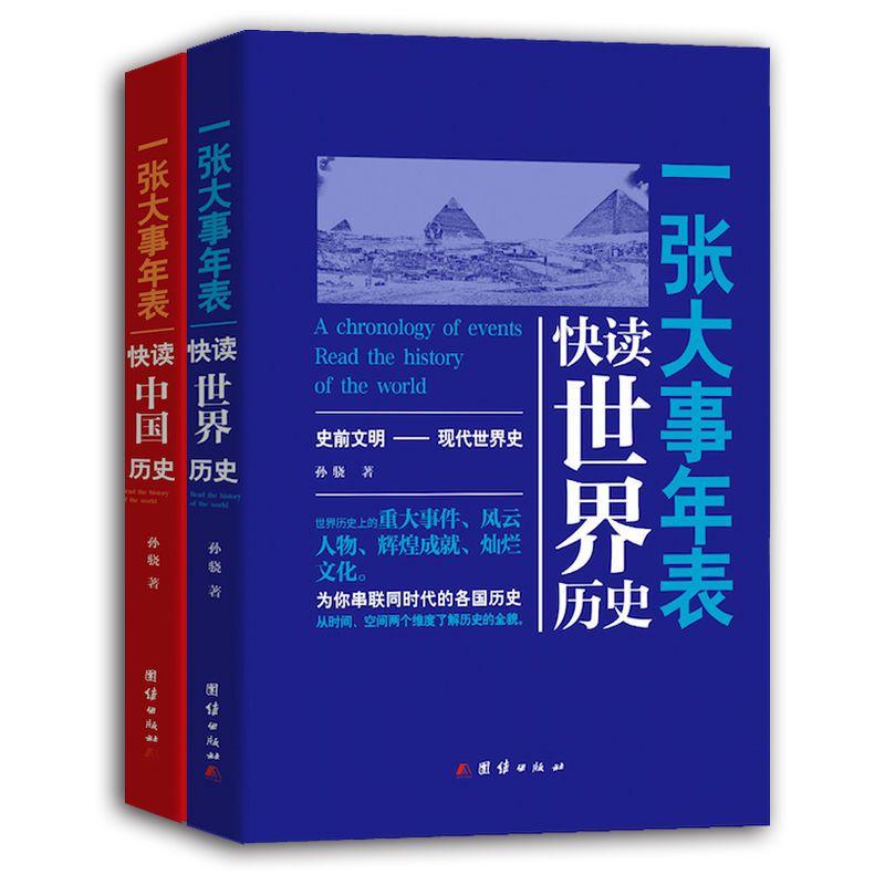 大事年表快读全球历史套装共2册