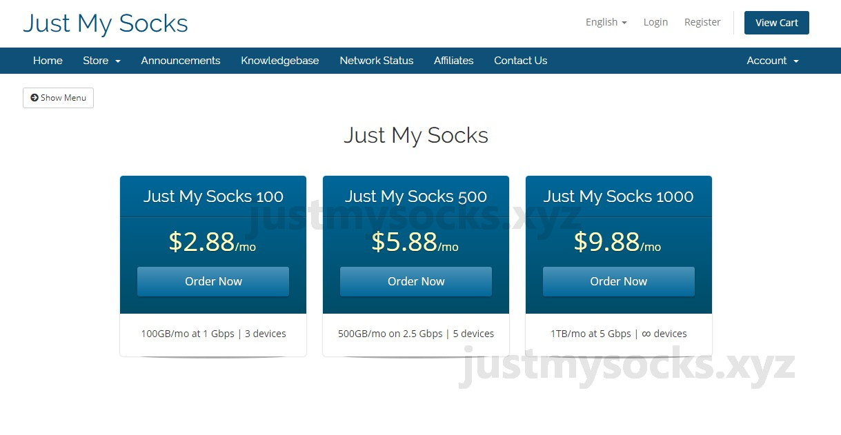 Just My Socks