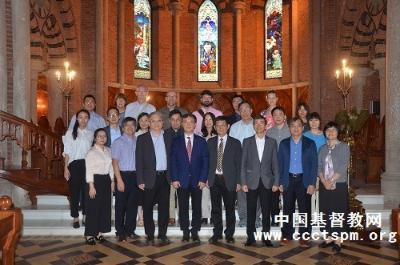香港信义宗神学院代表团到访基督教全国两会