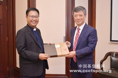新加坡四宗华文教会理事会代表团访问中国基督教两会