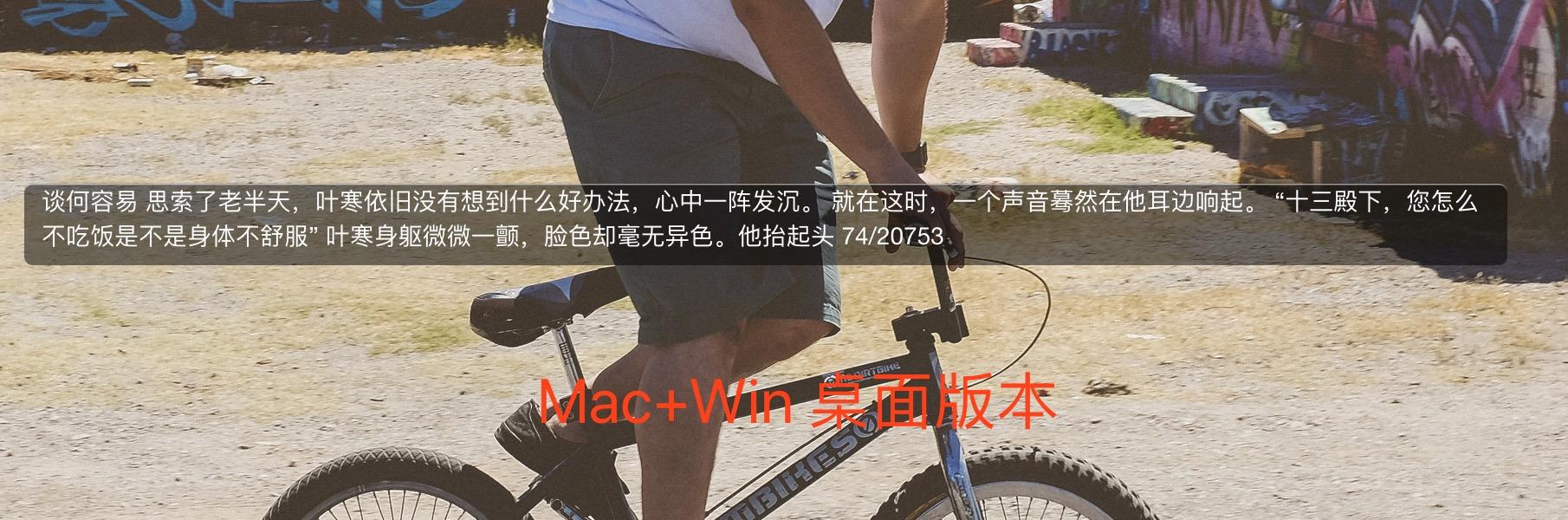 Thief-Book - 上班摸鱼神器:在屏幕小区域上阅读小说[Win/macOS/VS Code] 3