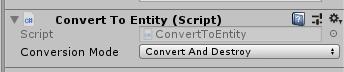 在编辑器中挂脚本,GameObject 会在运行时中转成实体