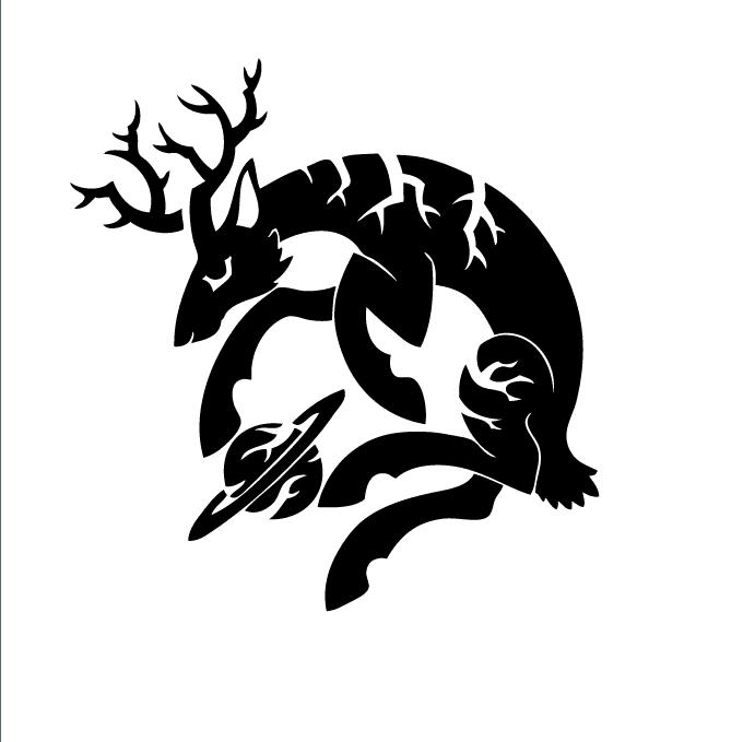 土星牡鹿Logo 01