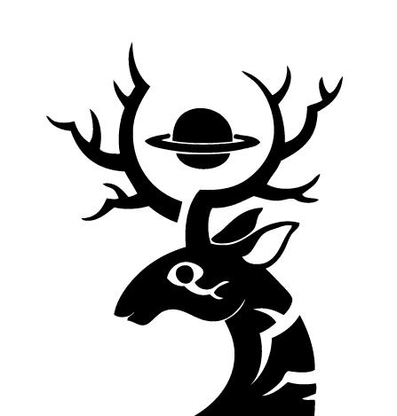土星牡鹿Logo 02