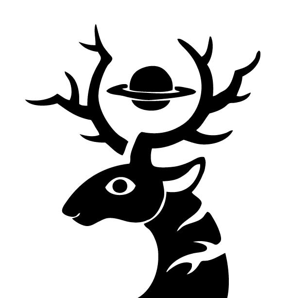 土星牡鹿Logo 03