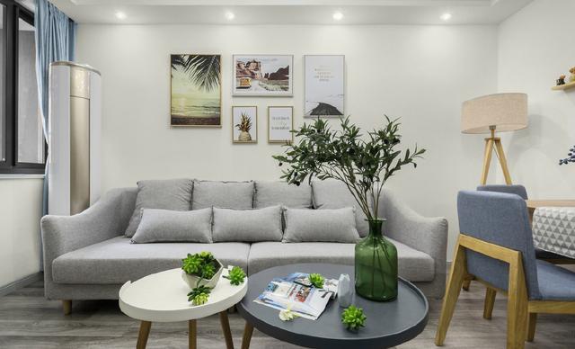 62平衡阳新房装修,墙面刷大白简单大方,儿童房最漂亮