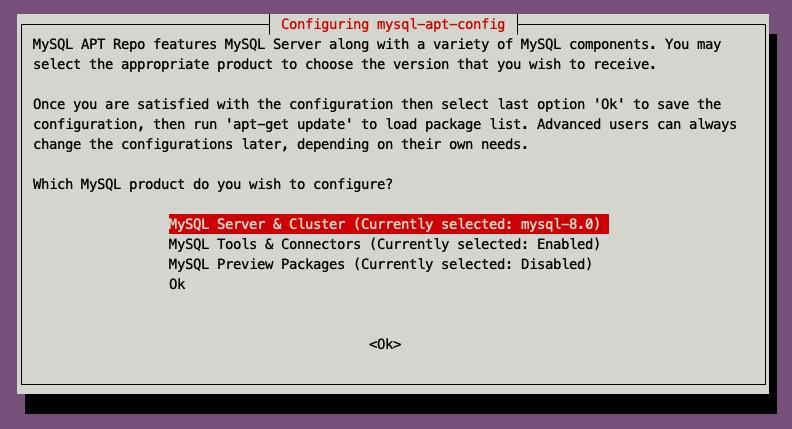 选择MySQL Server&Cluster