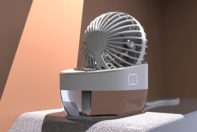 创意加湿风扇设计