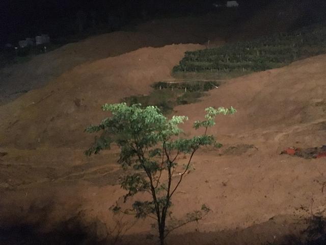 贵州六盘水再降大雨 山体滑坡救援被迫暂停