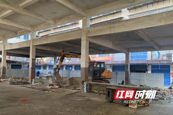 雁峰区:丁家牌楼集贸市场提质改造