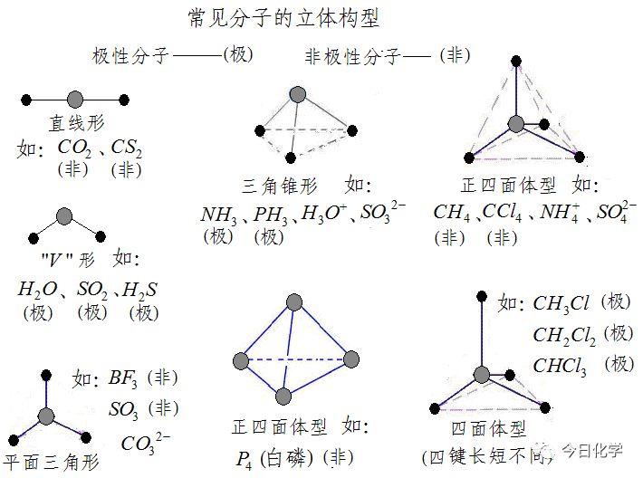 《分子结构与性质》知识点