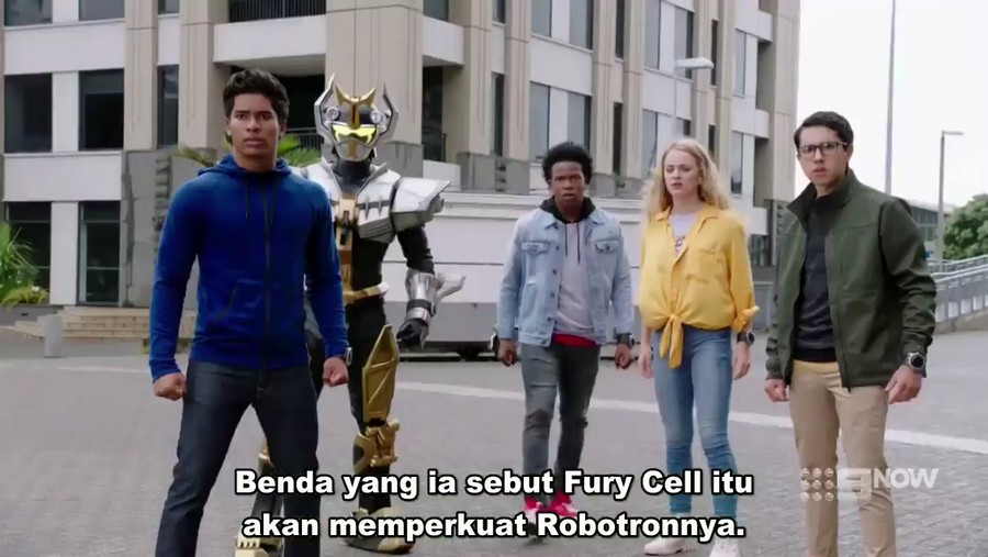 Power Rangers Beast Morphers Episode 14 Subtitle Indonesia