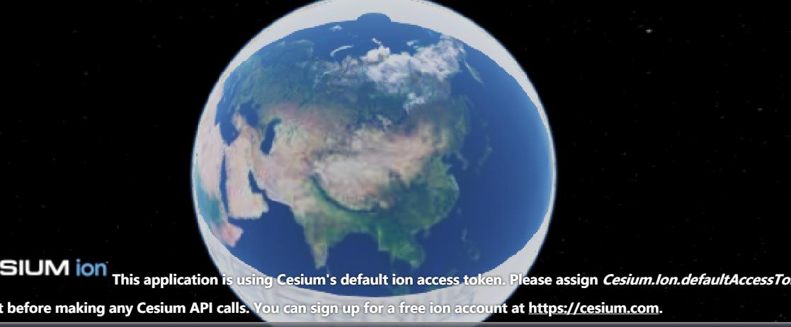 Cesium 加载本地的地图影像- Cesium中文网