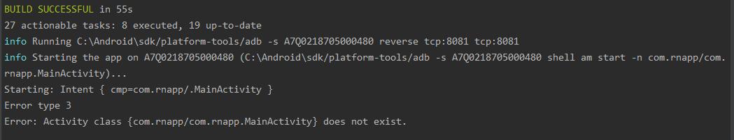 ReactNative报错记录以及原因分析(ReactNative报错汇总)