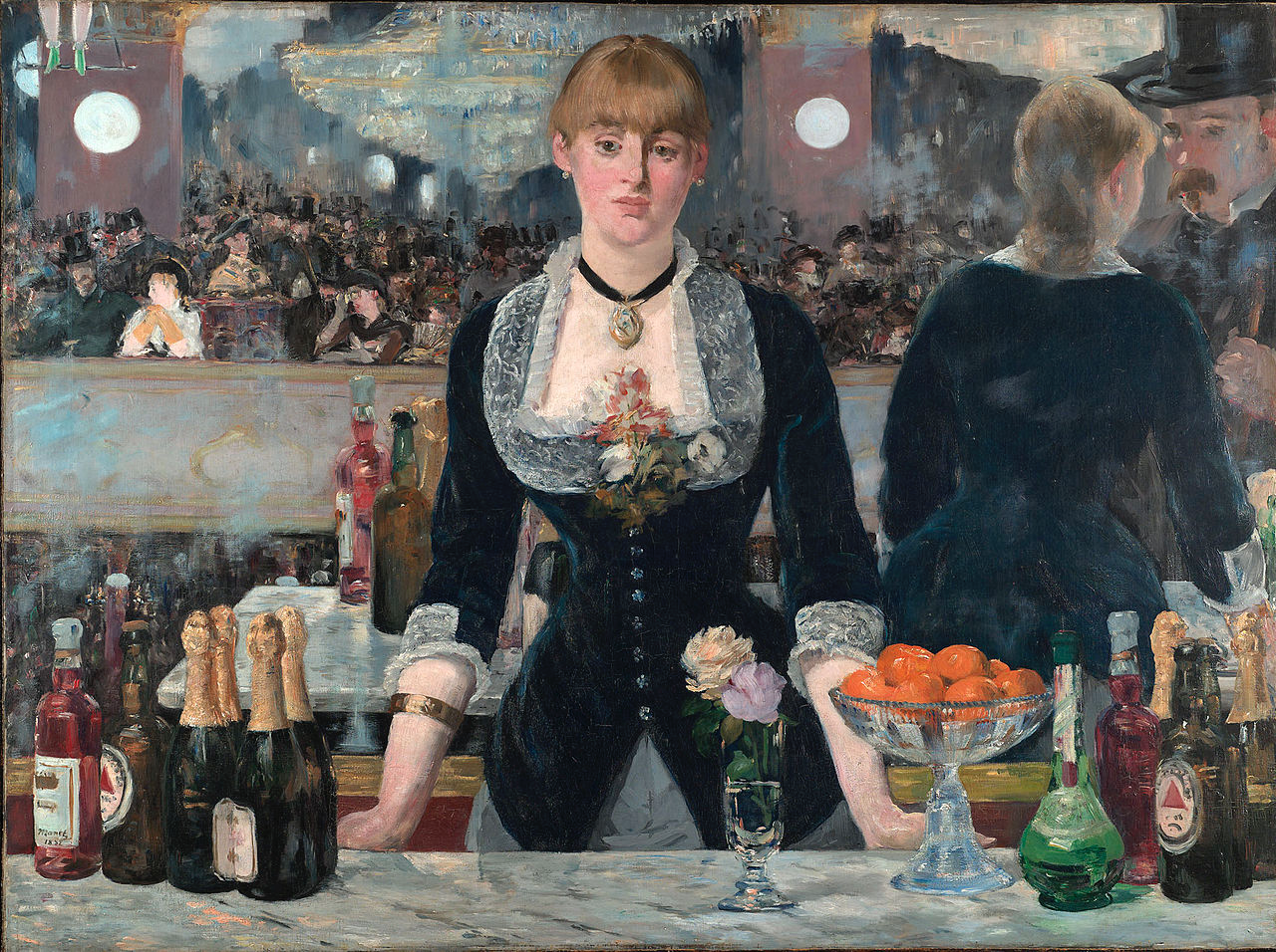 A Bar at the Folies-Bergère, Manet, 1882