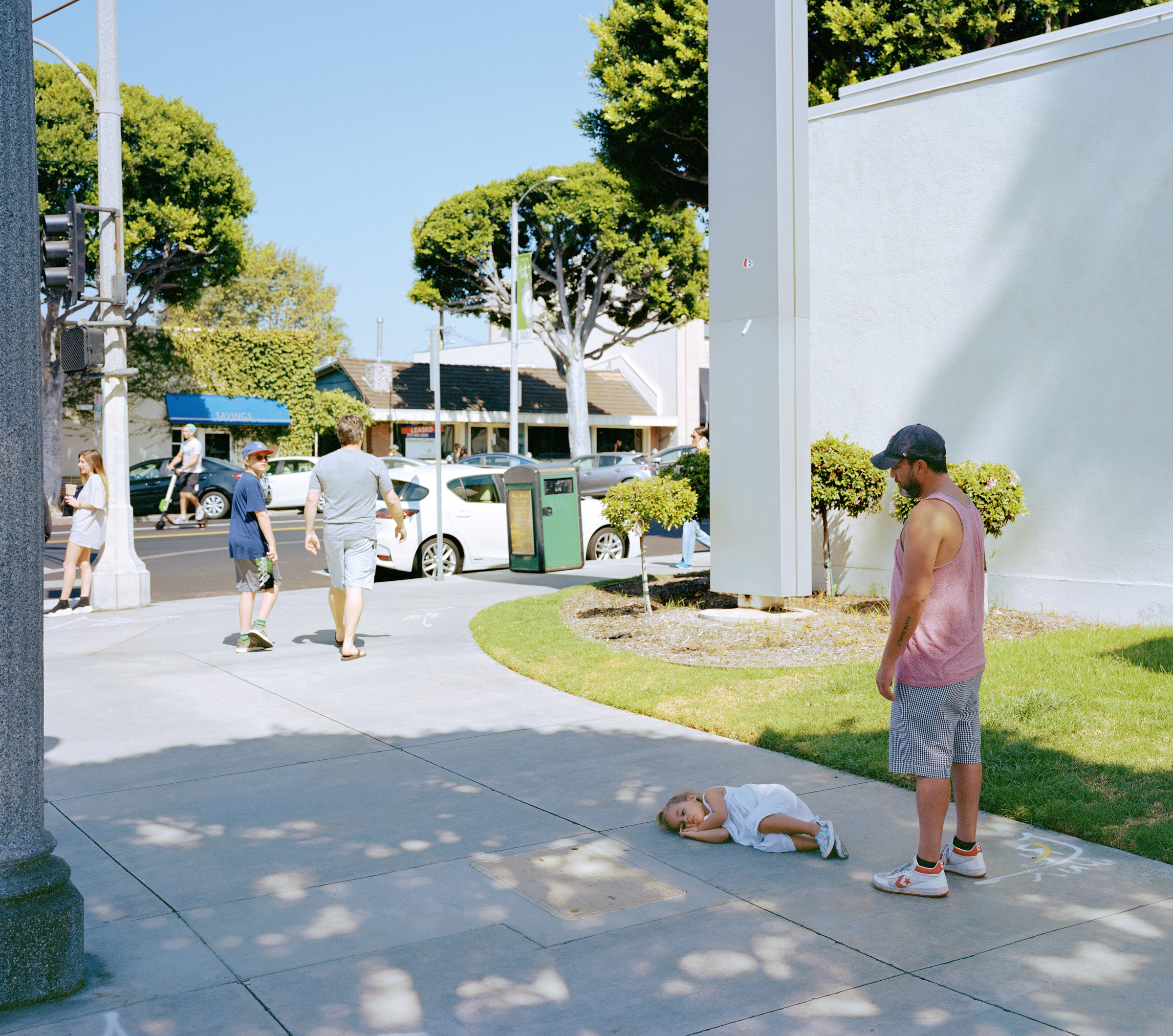 Parent child, Jeff Wall, 2018