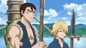 Dr. Stone Episode 7 Subtitle Indonesia