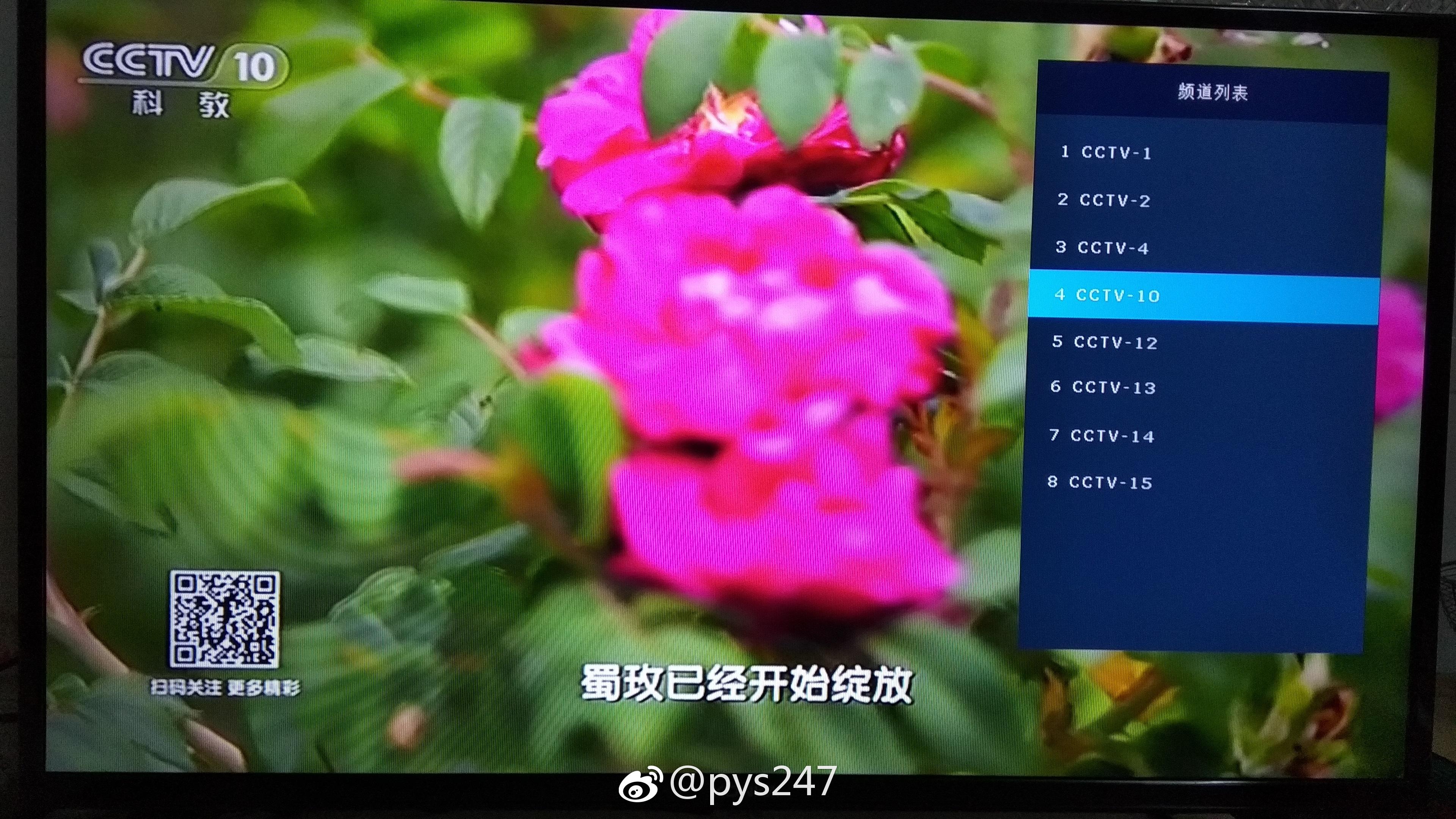 DTMB 754MHz CCTV-10