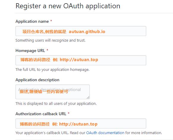 开通Github Application