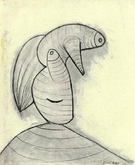 Pablo Picasso - Head, 1929
