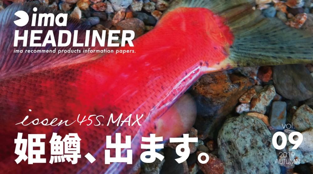 IMA issen 45S MAX 姫鱒 限定版