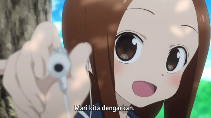 Karakai Jouzu no Takagi-san 2 Episode 10 Subtitle Indonesia