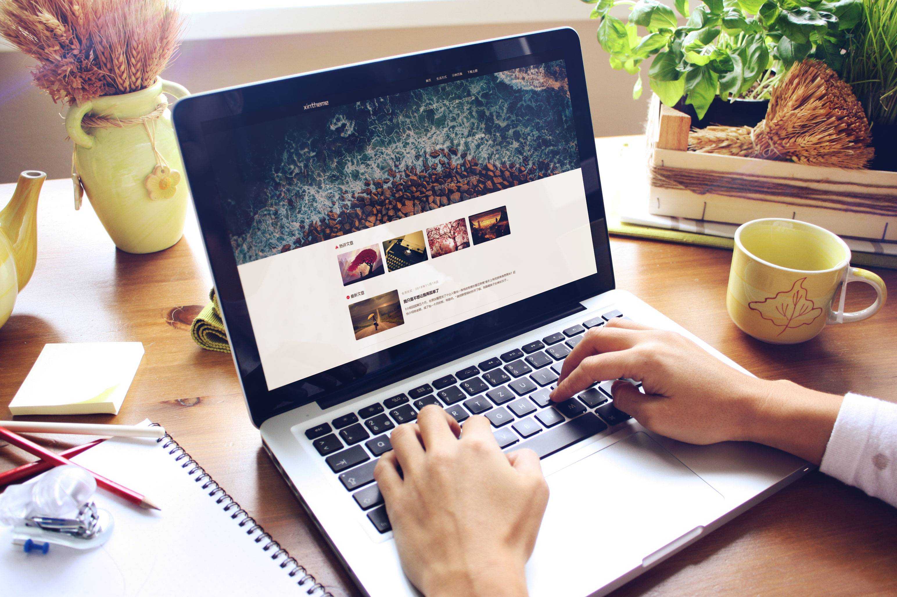 WordPress模板 Honey简洁优雅的个人博客主题-资源客