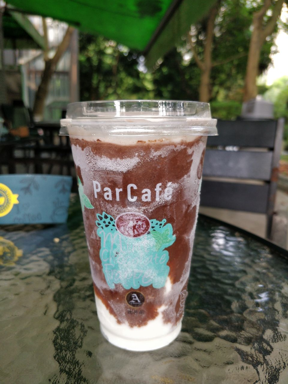 Family Mart ParCafe Mint Chocolate Drink