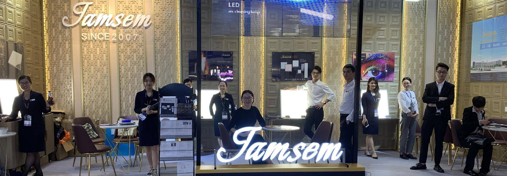 led panel light manufacturer JAMSEM sale contact information