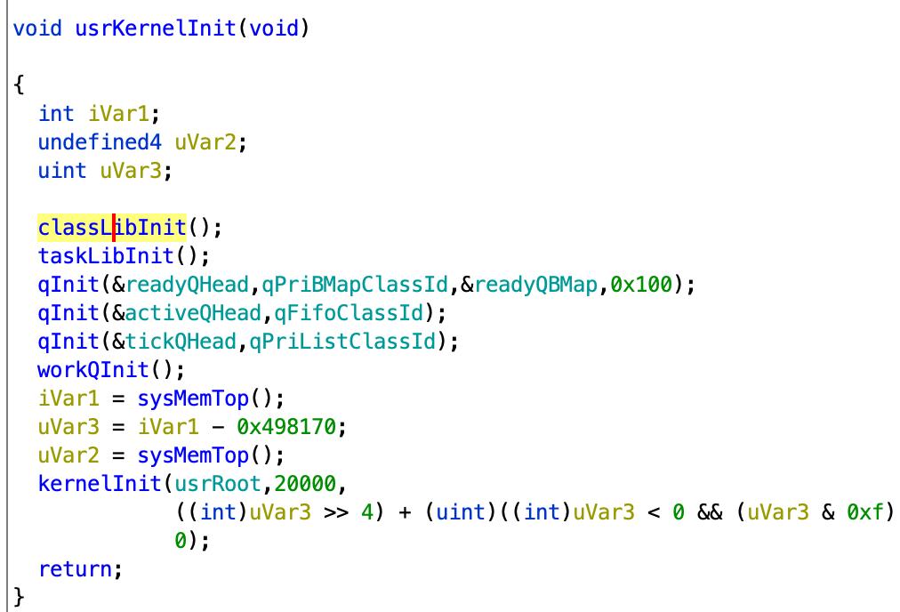 工控安全入门(六)——逆向角度看Vxworks