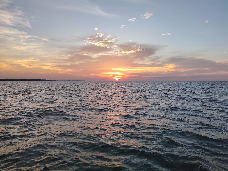 排尾角的日出