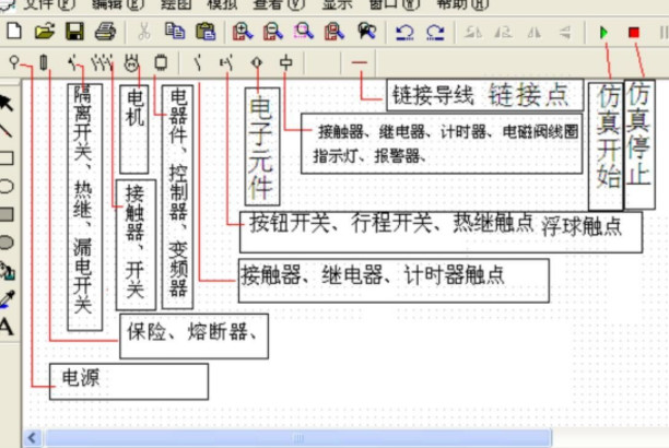 电工必备 电气电路仿真模拟软件工具书电工实物高清电路彩图