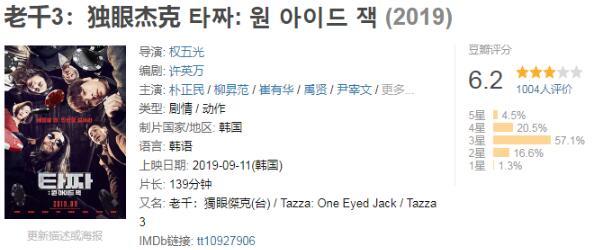 《老千3:独眼杰克》韩国动作电影高清版百度云在线观看