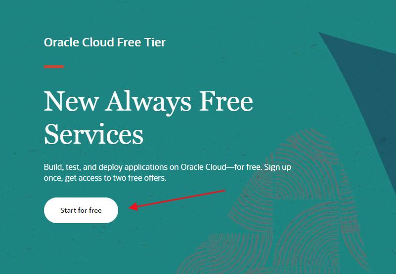 oracle cloud永久免费服务器