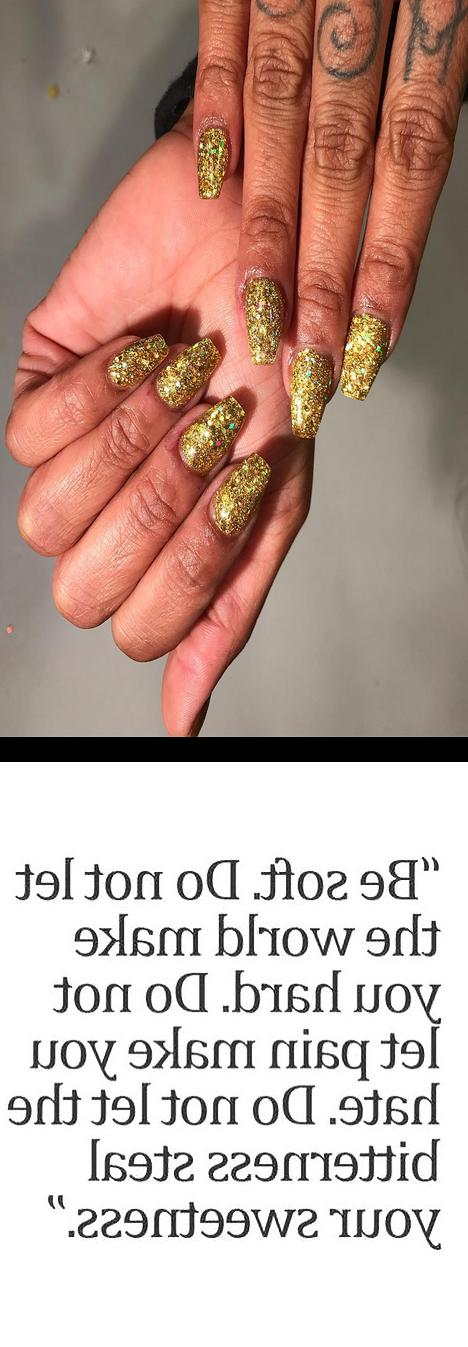 world nails,clear pink nails,dutchessofink all gold glitter acrylic , nopolish , allacrylic , kreationsbykiki , nails , ncnails , raleighnails , durhamnails , glitter , glitternails , tumblr , nailsofinstagram , nailsoftheday , nailpro , fashion , nailart , nailtutorial , bgdn , blackgirlsdonails , blacknailtechs , naillife , nailsmagazine , tumblrfeature , goodmorning , motivation