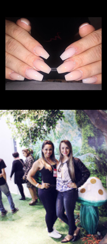 nail buffer,kt nails,Amiga! , SempreJuntas , MigaSuaLoka , Dailus , Beautyfair  Color and Glitter Acrylic Nude Coffin Nails