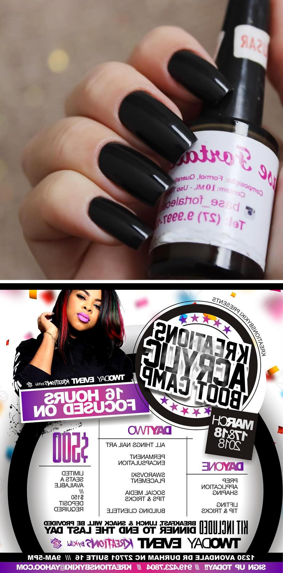 opi gel,luxury nails and spa,Minha base fortalecedora da base_fortalecedora Antigamente eu nusava e minhas unhas eram papel, eu dobrava elas com muita facilidade rs.... Grandes, mas sempre com uma ou outra curtinha pq quebravam muito! Entpra quem pergunta, eu tusando a base da base_fortalecedora, particularmente uma das minhas preferidas Quem tiver interesse em comprar schamar no whats (27) 9.9997.1948, custa R$40,00 e ela envia para todo o Brasil! The next boot camp!  The last one went by so fast that Idecided to make this one a two day event! Yessss 16 full hours!! Iso excited! . $150 deposit to hold your spot w/ remainder due by March 4, 2018  REGISTRATION IS CLOSING SOON  Send your deposit to paypal.me/kreationsbykiki or $kreationsbykiki through cash appa saying MARCH BOOTCAMP and then send me a message with your full name, email and phone number! . . You donwant to miss this! Itgoing to be a nail party! ~~ Flyer by drltoons ~~