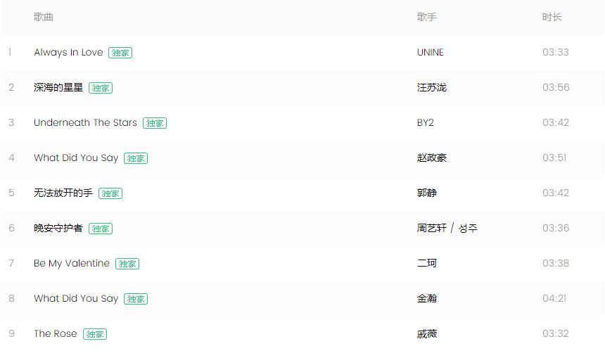 《没有秘密的你》电视剧OST【高品MP3/320K】