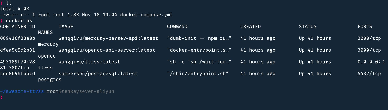 查看正在运行的 Docker 容器