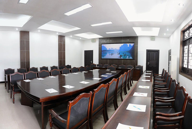 led panel lighting application case meeting room LED flat panel lights