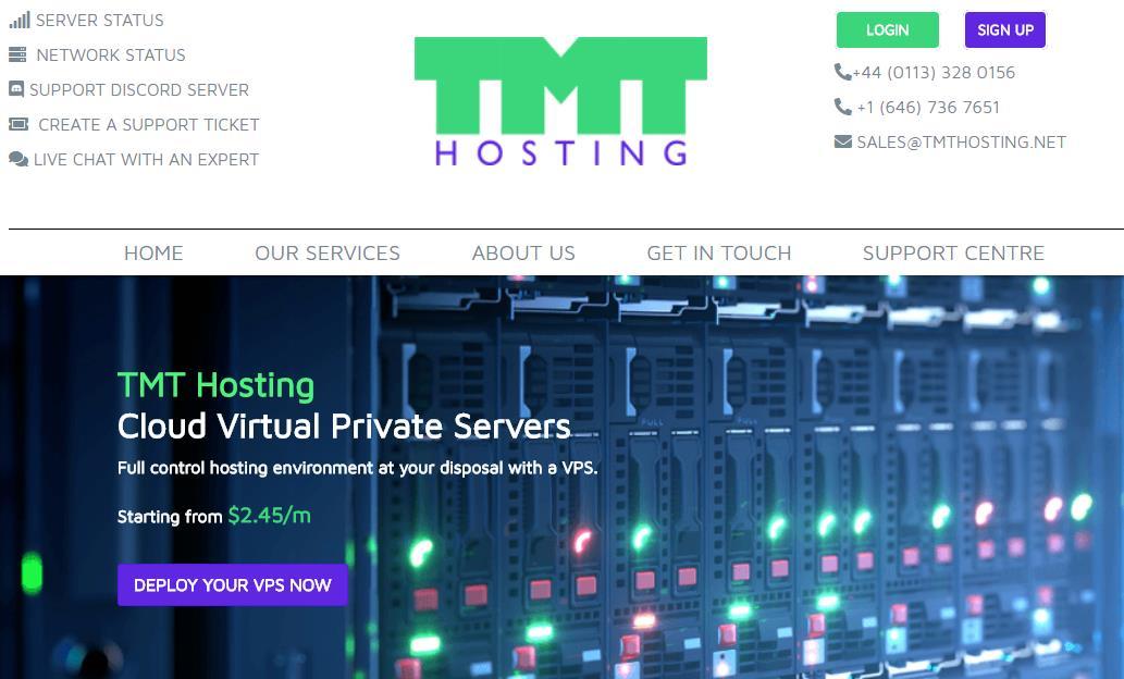 TMT Hosting:$3.34/月/512MB内存/25GB空间/1.TB流量/1Gbps端口/DDOS/KVM/西雅图;SpartanHost同线路-VPS SO