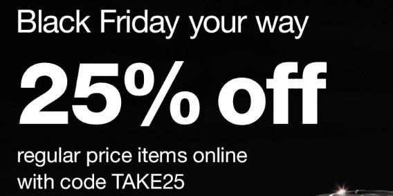 Walgreens 黑五促銷,全場美容護膚品額外75折優惠