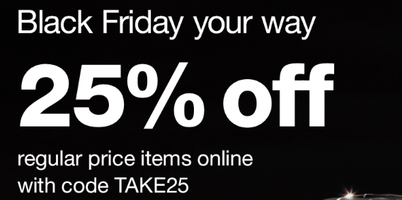 Walgreens 黑五促销,全场美容护肤品额外75折优惠