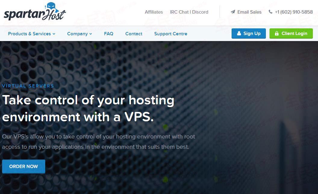 SpartanHost:$2.5/月/512MB内存/10GB NVMe空间/1TB流量/1Gbps端口/DDoS/KVM/西雅图-VPS SO